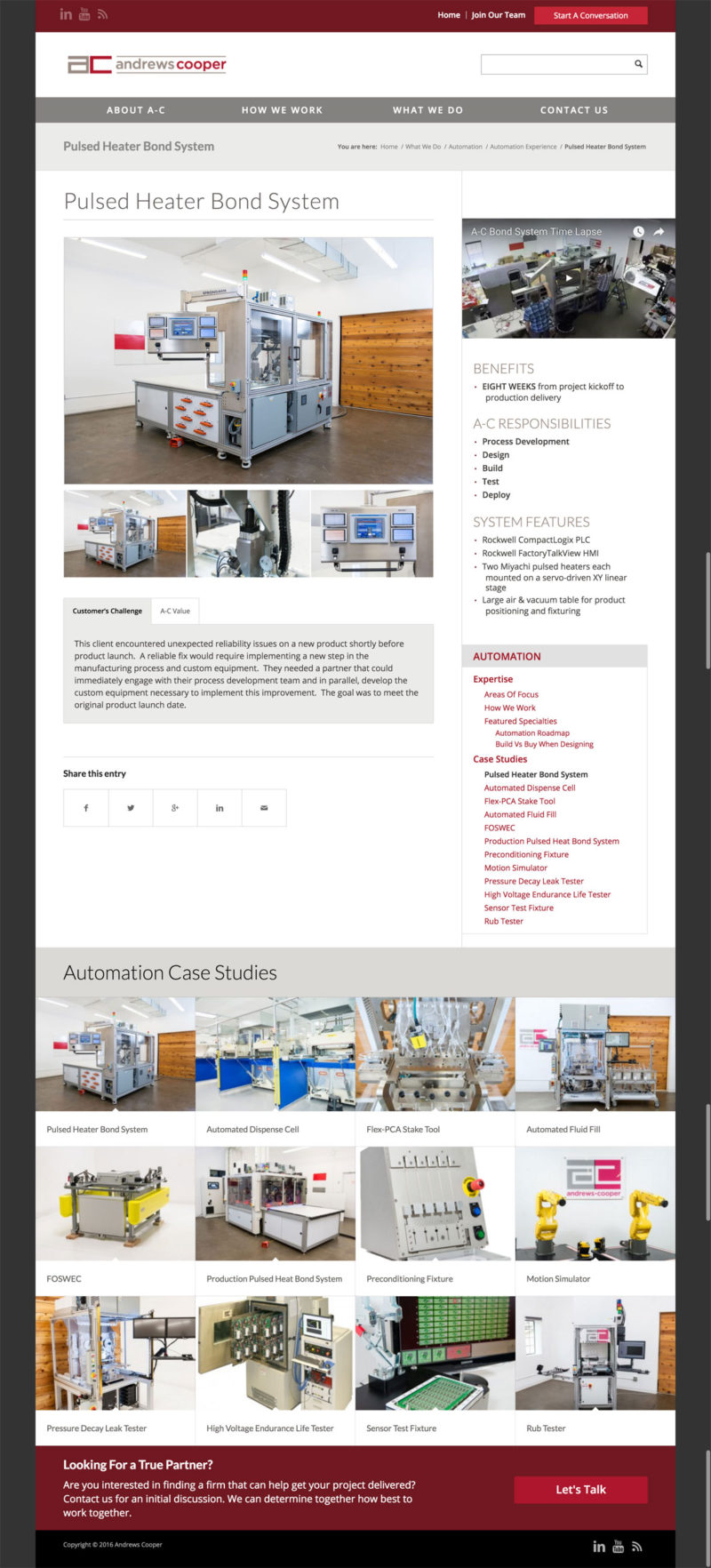 Andrews Cooper Case Study Page