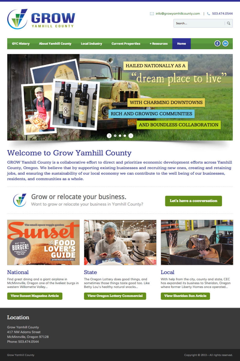 Grow Yamhill County Home Page