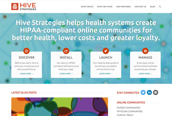 Hive Strategies Website